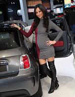 2012巴黎车展模特
