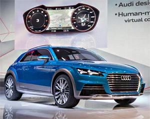 2014北美车展 奥迪allroad猎装车发布