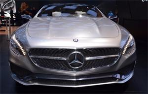 2014北美车展 奔驰S级coupe双门跑车