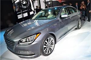 2014北美车展 现代发布全新劳恩斯车型