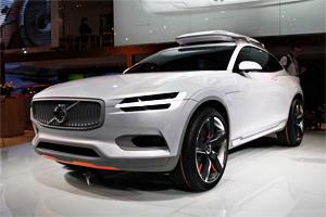 2014北美车展 沃尔沃XC Coupe正式亮相