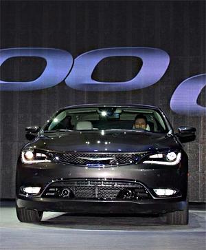 2014北美车展 克莱斯勒200正式亮相