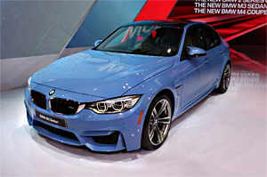 2014北美车展 宝马全新M3车型正式发布(
