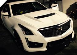 2015北美车展 凯迪拉克CTS-V实车亮相