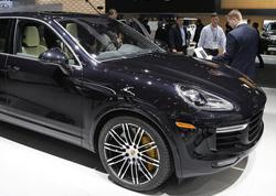 2015北美车展 保时捷新款卡宴Turbo S