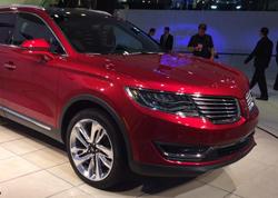 2015北美车展 林肯全新MKX中型SUV首发